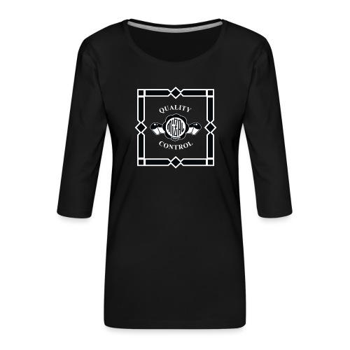 Quality Control by MizAl - T-shirt Premium manches 3/4 Femme