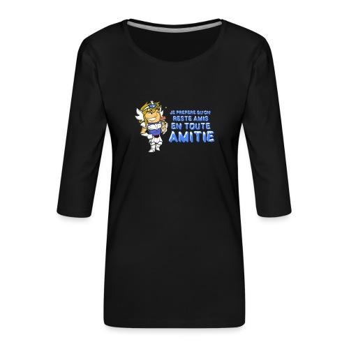 Hyôga - En toute Amitié - T-shirt Premium manches 3/4 Femme