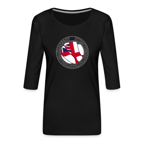 Hands to Harbour Stations (DC) - Women's Premium 3/4-Sleeve T-Shirt