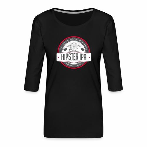 Hipster IPA - Women's Premium 3/4-Sleeve T-Shirt