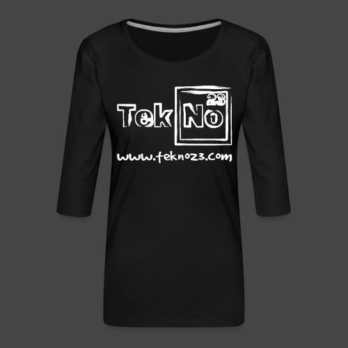 tekno23 - T-shirt Premium manches 3/4 Femme