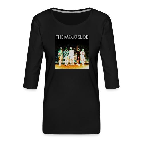 The Mojo Slide - Design 2 - Women's Premium 3/4-Sleeve T-Shirt