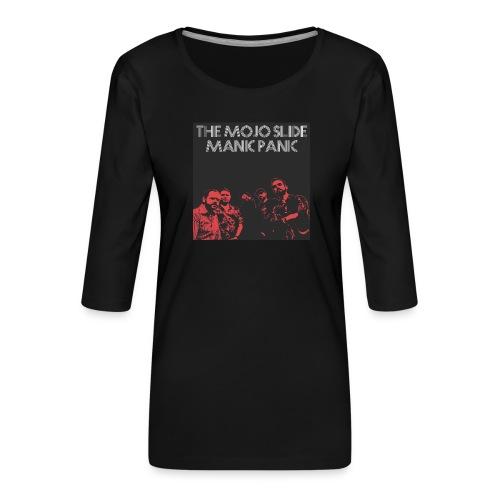 Manic Panic - Design 2 - Women's Premium 3/4-Sleeve T-Shirt
