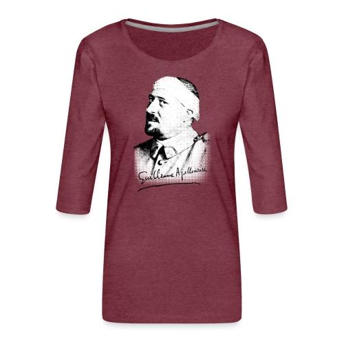 Débardeur Femme - Guillaume Apollinaire - T-shirt Premium manches 3/4 Femme