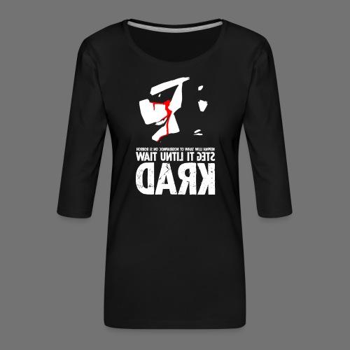 horrorcontest sixnineline - Koszulka damska Premium z rękawem 3/4
