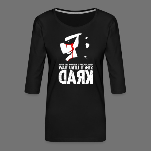 horrorcontest sixnineline - Naisten premium 3/4-hihainen paita