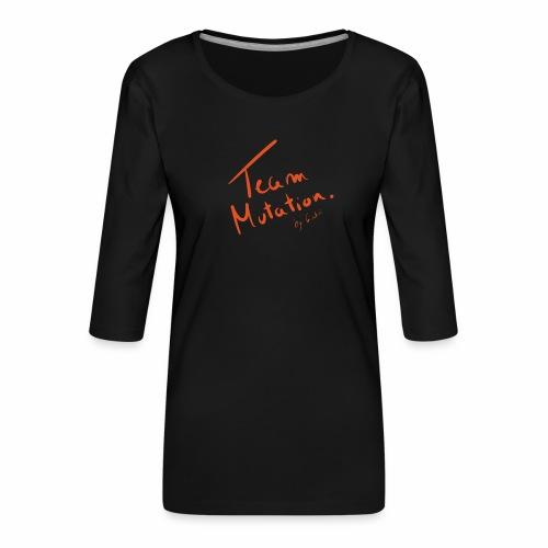 Team Mutation Scribe - T-shirt Premium manches 3/4 Femme