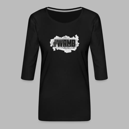 Logo Fix2 - T-shirt Premium manches 3/4 Femme