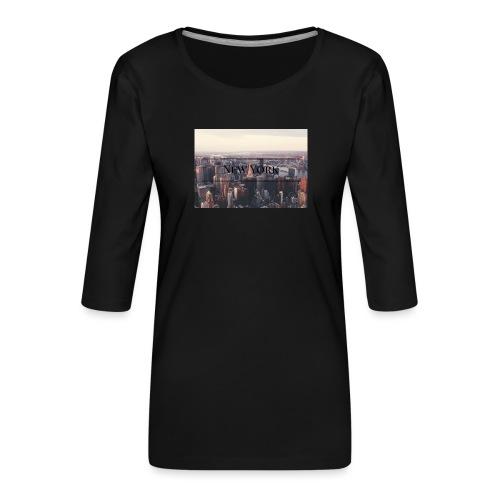 spreadshirt - T-shirt Premium manches 3/4 Femme