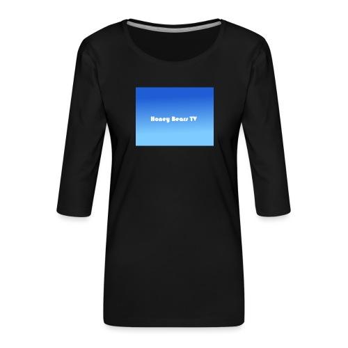 Honey Bears TV Merch - Women's Premium 3/4-Sleeve T-Shirt