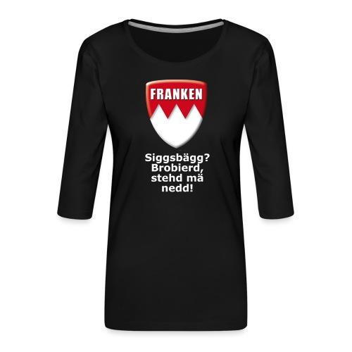 tshirt_siggsbagg - Frauen Premium 3/4-Arm Shirt
