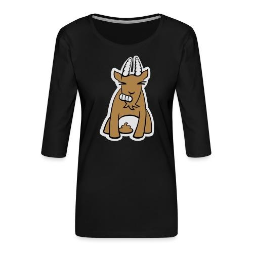 Scheissbock - Frauen Premium 3/4-Arm Shirt