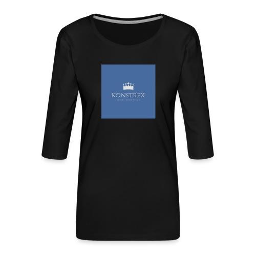 konstrex - Dame Premium shirt med 3/4-ærmer