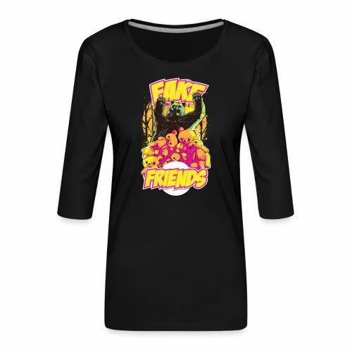 Fake Friends - Frauen Premium 3/4-Arm Shirt