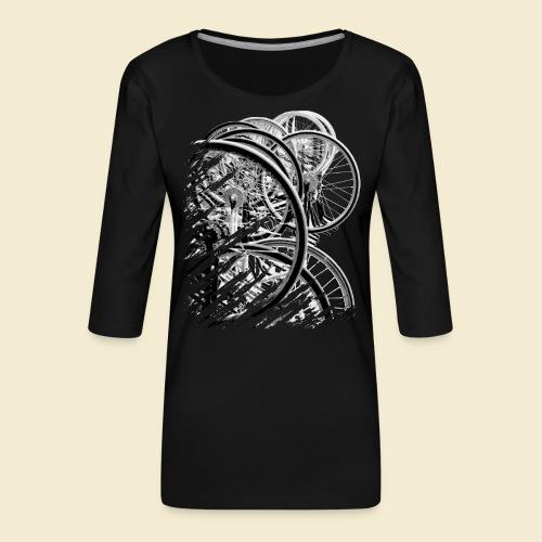 Radball | Cycle Ball Break 2 - Frauen Premium 3/4-Arm Shirt