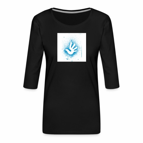 T Shirt 3 - T-shirt Premium manches 3/4 Femme