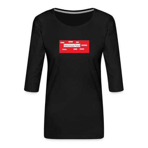 Hekottaja Plays - Naisten premium 3/4-hihainen paita