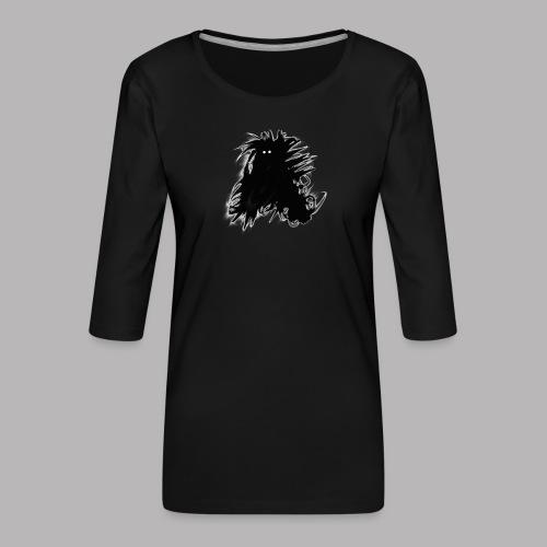 Alan at Attention - Women's Premium 3/4-Sleeve T-Shirt