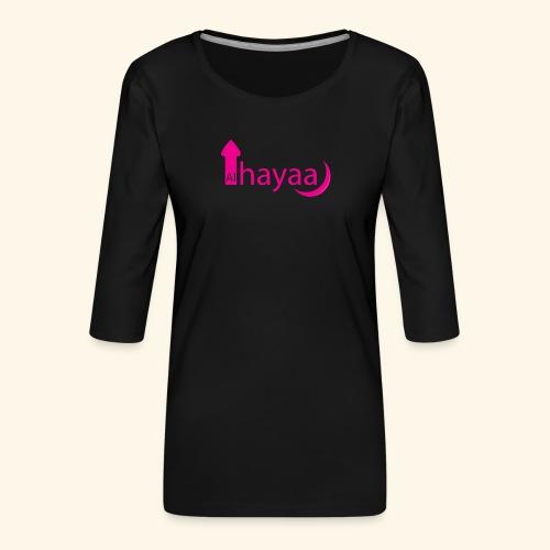 Al Hayaa - T-shirt Premium manches 3/4 Femme