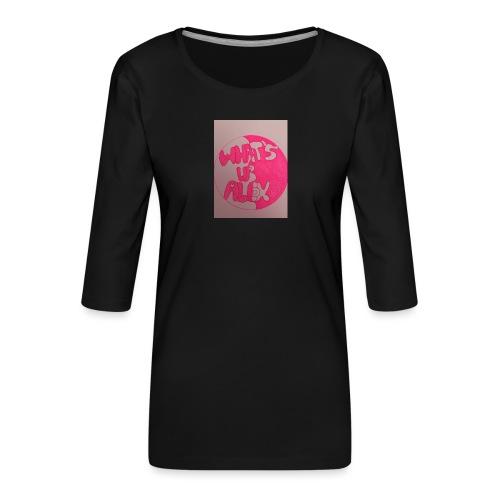 Alex bell - Women's Premium 3/4-Sleeve T-Shirt