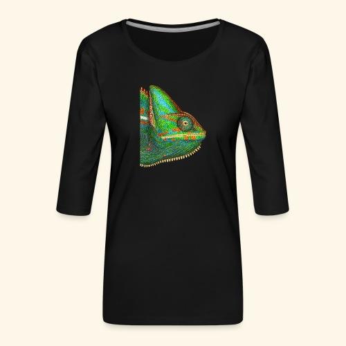 Chamäleon - Frauen Premium 3/4-Arm Shirt