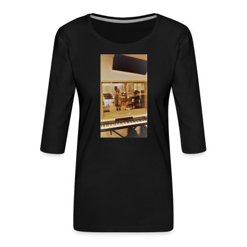 fan de caro - T-shirt Premium manches 3/4 Femme