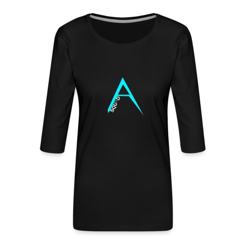 ANGISTEF SQUAD LOGO - Premium-T-shirt med 3/4-ärm dam