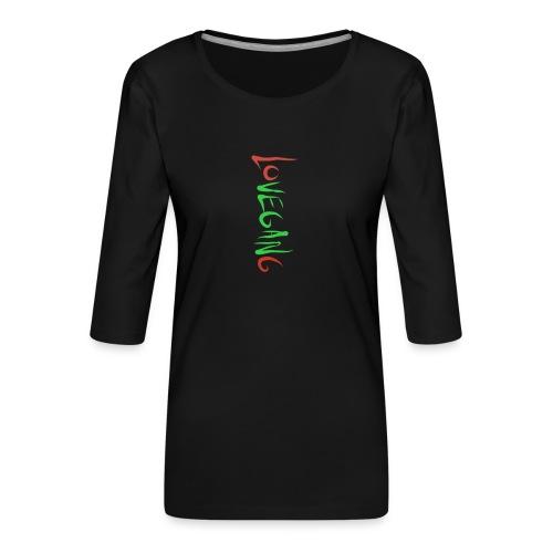 Lovegang - Naisten premium 3/4-hihainen paita