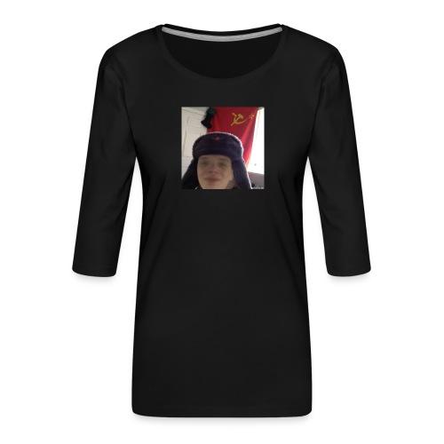 Kommunisti Saska - Naisten premium 3/4-hihainen paita