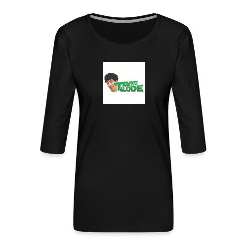 spillette - Maglietta da donna premium con manica a 3/4