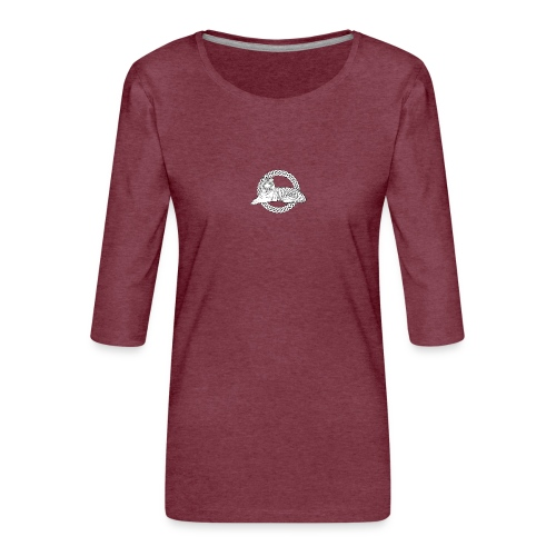 CelticTiger Apparel - Women's Premium 3/4-Sleeve T-Shirt