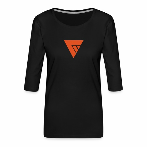 Logo Team Mutation - T-shirt Premium manches 3/4 Femme