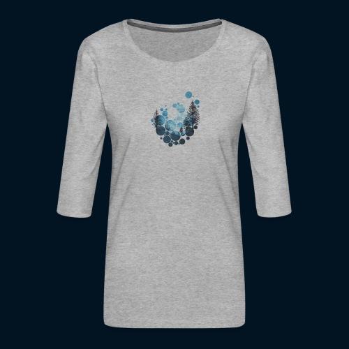 Camicia Flofames - Maglietta da donna premium con manica a 3/4