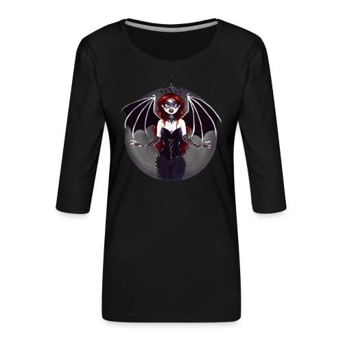 E. R. Whittingham Artwork for World Gothic Models - Women's Premium 3/4-Sleeve T-Shirt