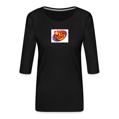 xstarstoryok - T-shirt Premium manches 3/4 Femme