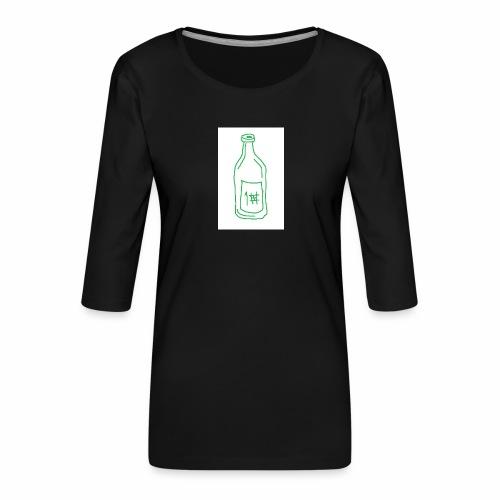 Alkoholi - Naisten premium 3/4-hihainen paita