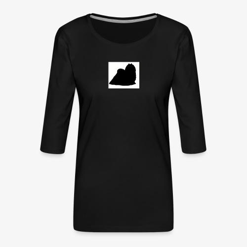 Maltese - Women's Premium 3/4-Sleeve T-Shirt