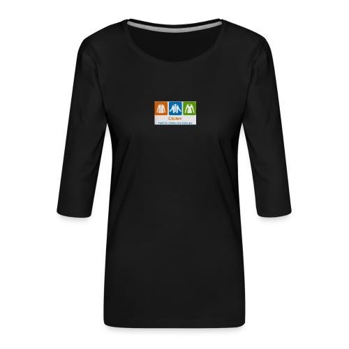IMG 3596 - Dame Premium shirt med 3/4-ærmer