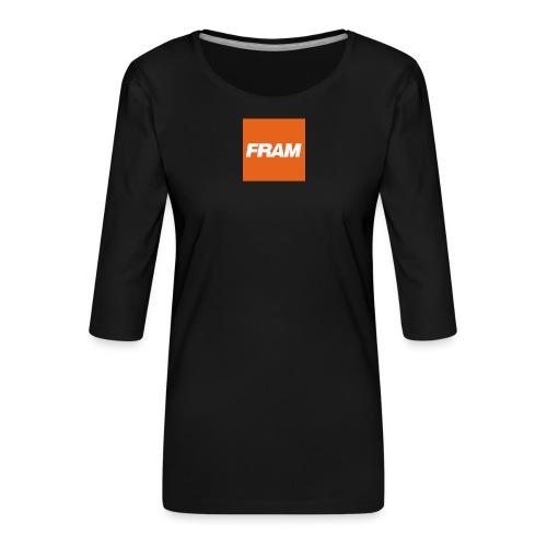 K7HbWkNI 400x400 - Vrouwen premium shirt 3/4-mouw