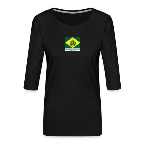 Brazil 200 years independence - Premium T-skjorte med 3/4 erme for kvinner
