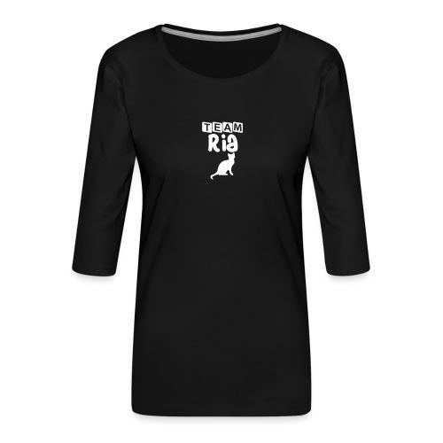 Team Ria - Women's Premium 3/4-Sleeve T-Shirt