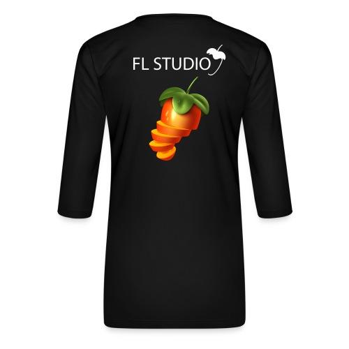 Sliced Sweaty Fruit - Women's Premium 3/4-Sleeve T-Shirt