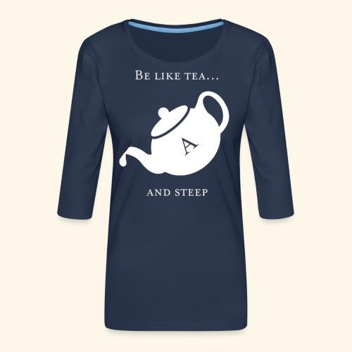hmmn - Women's Premium 3/4-Sleeve T-Shirt