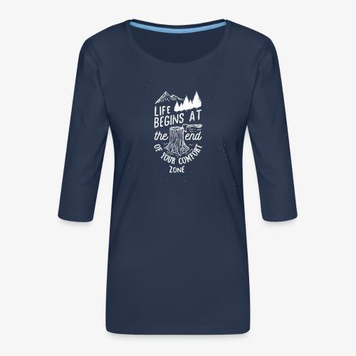 comfortzone - Women's Premium 3/4-Sleeve T-Shirt