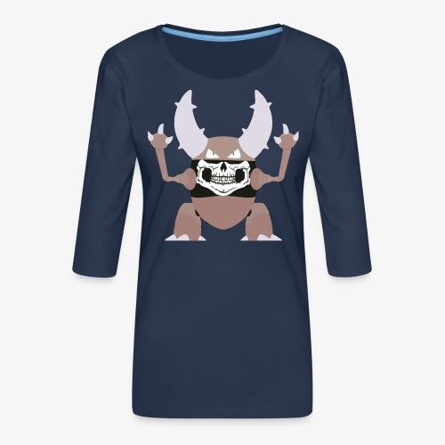 Pinsir RAW Mondkapje - Vrouwen premium shirt 3/4-mouw
