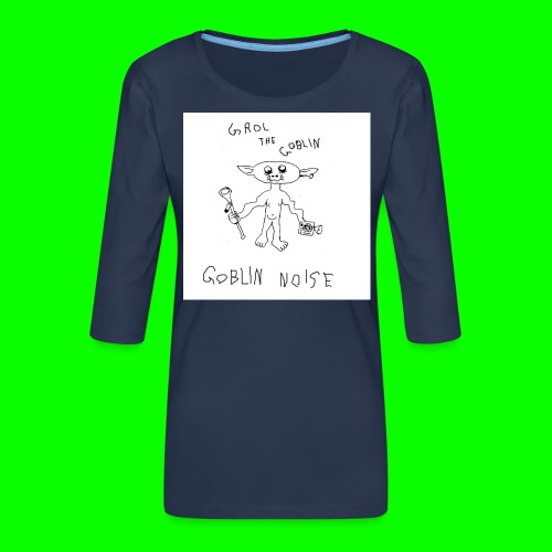Goblin Noise - Women's Premium 3/4-Sleeve T-Shirt