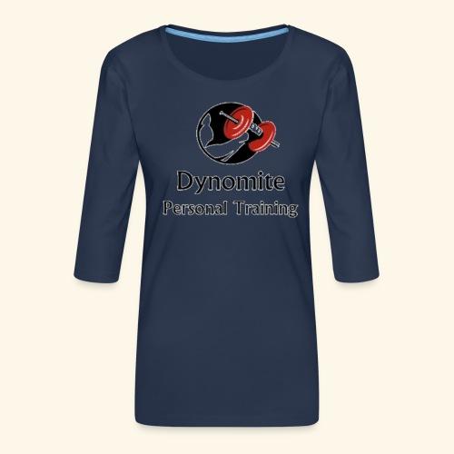 Dynomite Personal Training - Women's Premium 3/4-Sleeve T-Shirt