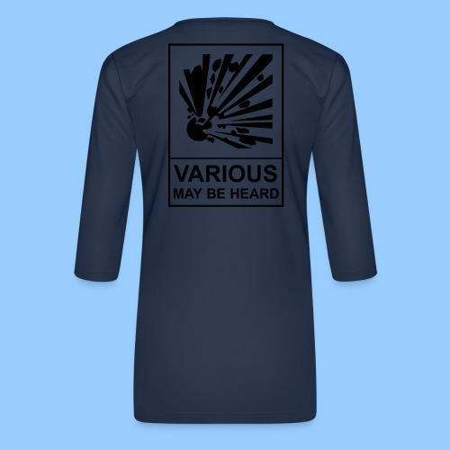 VariousExplosions (1 colour) - Women's Premium 3/4-Sleeve T-Shirt