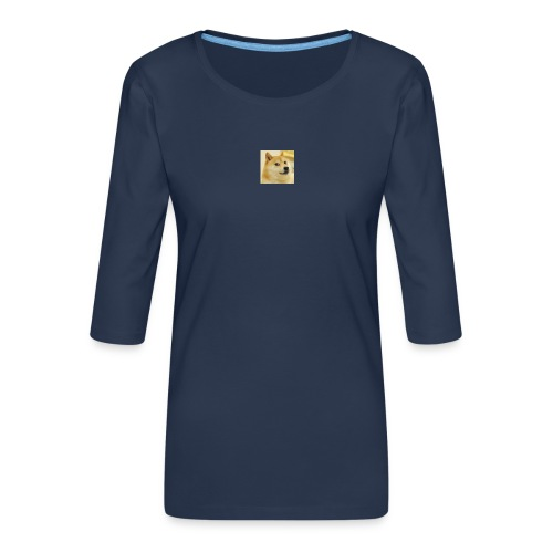 tiny dog - Women's Premium 3/4-Sleeve T-Shirt