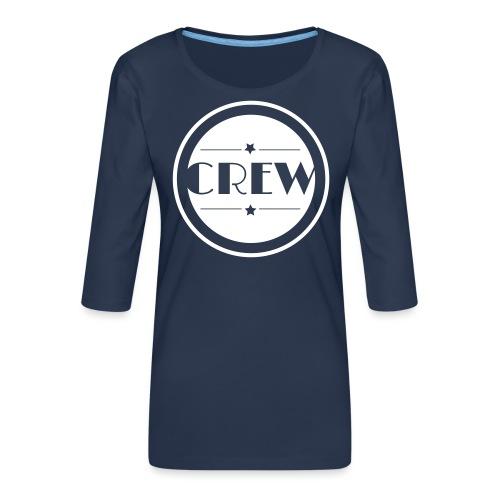 CREW - Frauen Premium 3/4-Arm Shirt
